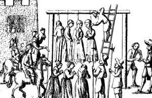 Witches Hanged in 1655